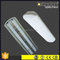 T5 T8 Tube Led IP65 Fluorescent Light Fixture For Ceiling