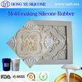 Tin Cure Silicone rubber for sculpture decoration crafts