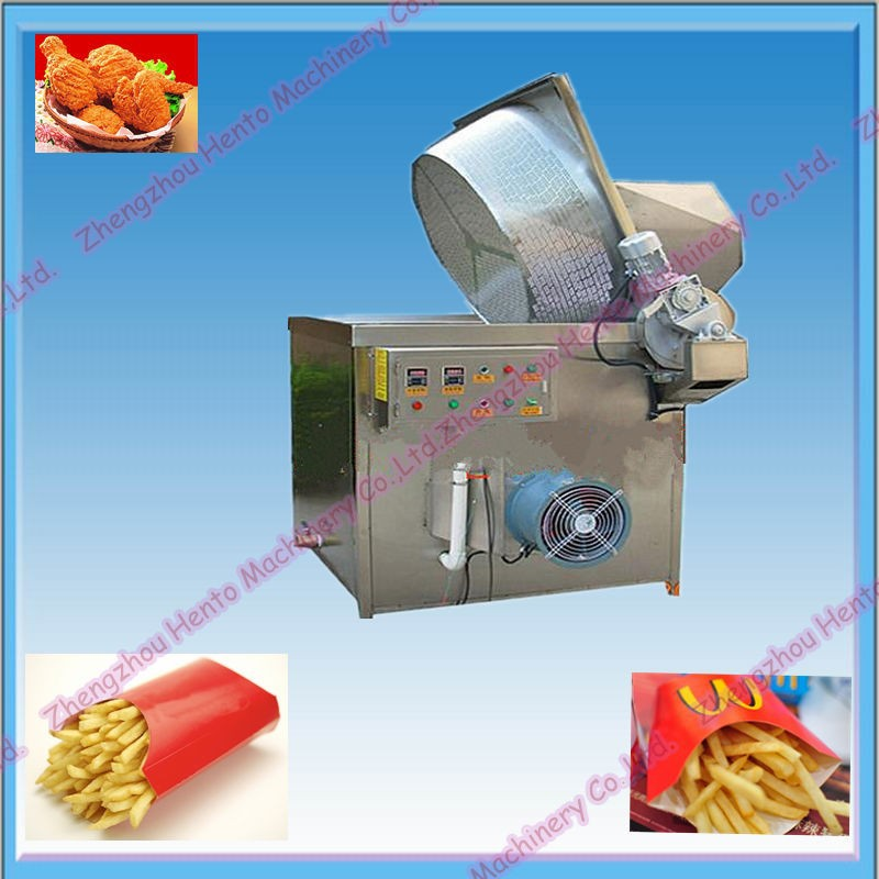 Potato Chips Frying Machine / French Fried Potatoes Machine