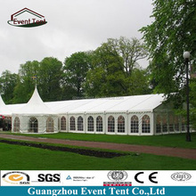 200 people 10*20meters event party maruqee air conditioned wedding tent