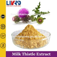 Healthcare herbs silymarin powder,silybum marianum Milk Thistle Extract