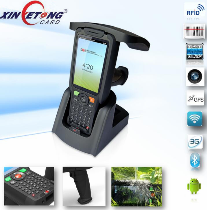 EPC Gen 2 ISO18000-6C GPS bluetooth long range uhf reader android handheld reader