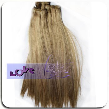 Wholesale Mix 18# &12# Color Silky Straight Remy Russian Hair with Full Hair Cuticle