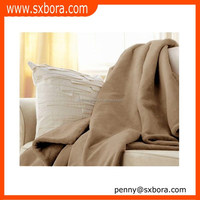 Thick plain mora blanket spain factory supplier