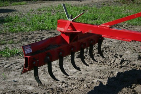 Tractor Implements 3-Point Grader Blade with Rippers 5ft