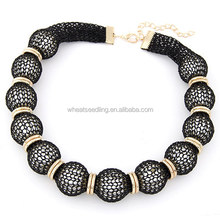 Classical all match lace pearl necklaces fashion handicraft