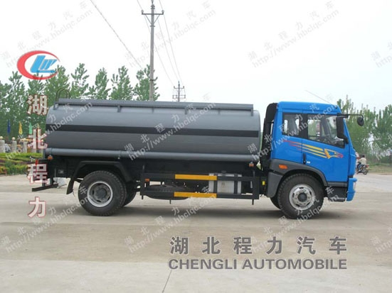 Jiefang One Bridge Chemical Tanker truck