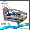 2016 hot selling high pressure plain heat press machine t shirt heat transfer machine