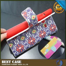 Trendy cell phone case leather cell phone case for Samsung galaxy ace 4 g313