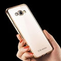 Electroplating TPU Ultra Slim Clear Crystal Back Cover Soft Flexible TPU Case Cover for Samsung Galaxy S8 S8 Plus