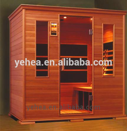 Well Designed wood fired barrel sauna steam room for sale