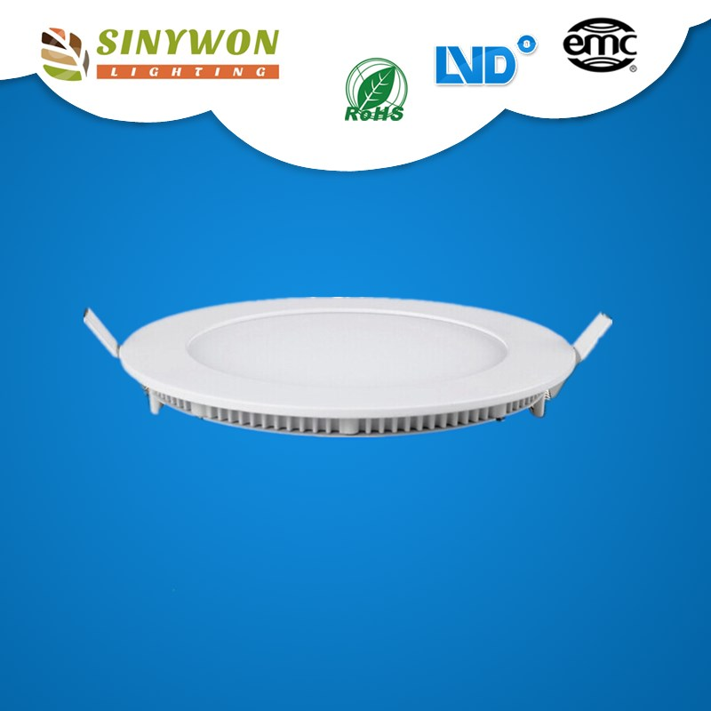 cool white/warm white Color Temperature(CCT)and Panel Lights Item Type 12w led panel lamp round