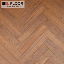 12mm durable Wood grain herringbone parquet laminate flooring tiles