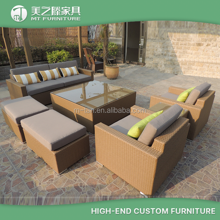 Wholesale cheap cube cebu resin wicker synthetic poly for Wholesale patio furniture