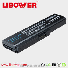 Extended fashion battery libow er laptop battery for Toshiba 3817 li-ion bat tery ,A660, A660D, A665, A665D, C675