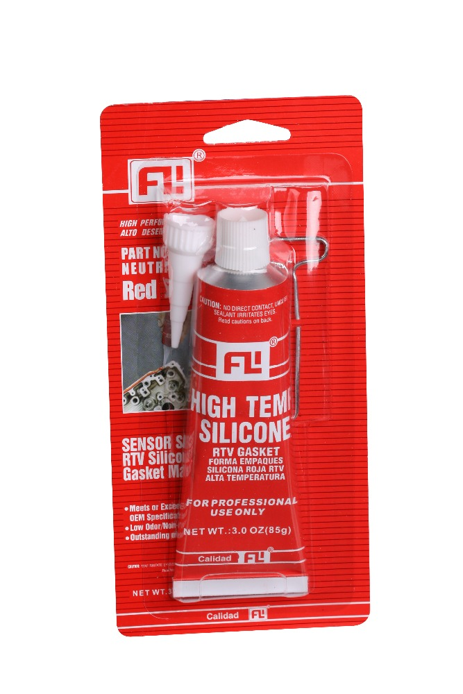 Waterproof clear non-toxic RTV silicone sealant for glass / metal / fabric