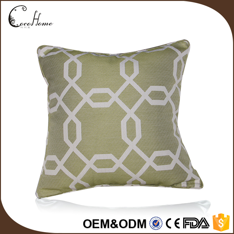 2017 hot sale blank green cushion cover custom hanging chair replacement cushion