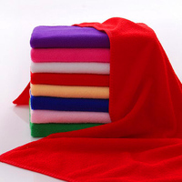 40*40cm, 300gsm car cleaning 100 % polyester material microfiber towel