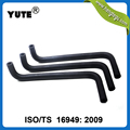 YUTE made 5/8 inch formed radiator auto cooling system hose with iso/ts 16949
