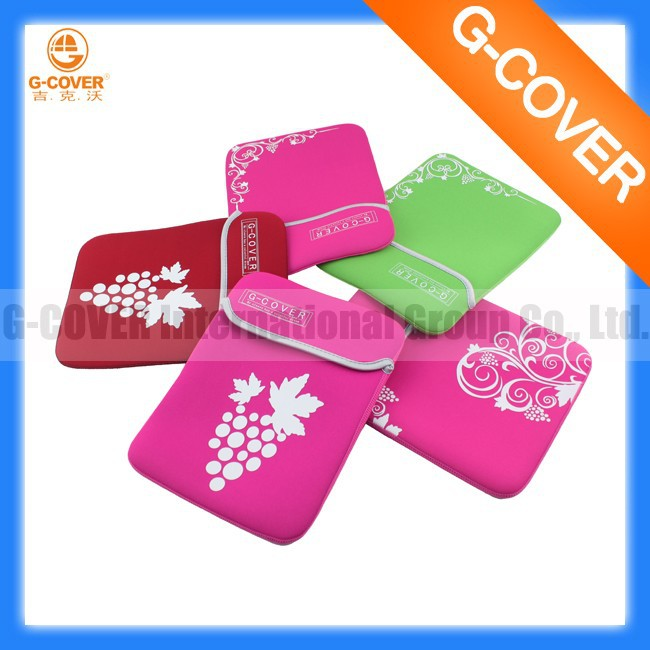 "10.1"" tablet netbook neoprene sleeve case factory fashion"
