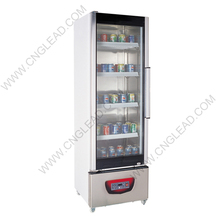 GL-338A Commercial supermarket refrigerated glass display cabinet