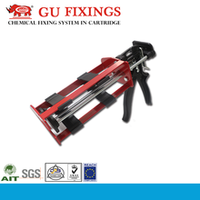 385ml dual component adhesive anchor mini caulking gun