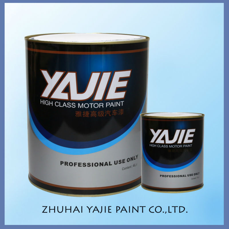 Excellent adhesion metallic pearlbase yellow pearl car for Metallic yellow paint