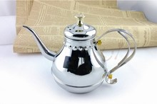 cast iron able stainless steel thermos tea pot with cover
