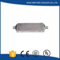 Stable quality universal turbo supercharger air to air 4 core aluminum intercooler best seller