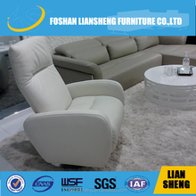FULL CREAM LEATHER FUNCTION SOFA CHAIR