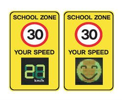 Traffic Speed Display