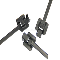 PPA Coated Reusable Stainless Steel Cable Ties