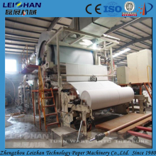 Small paper processing type best former tissue machine