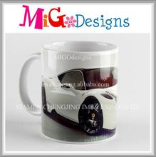 Nice Design Car Ceramic Coffee Mugs For Promotions
