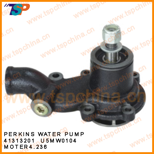 Water pump for PERKINS engine cooling system 41313201,U5MW0104,MOTER4.236