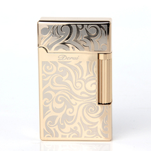 High Quality Brand Metal Drawing Carving Cigarette gas Lighter