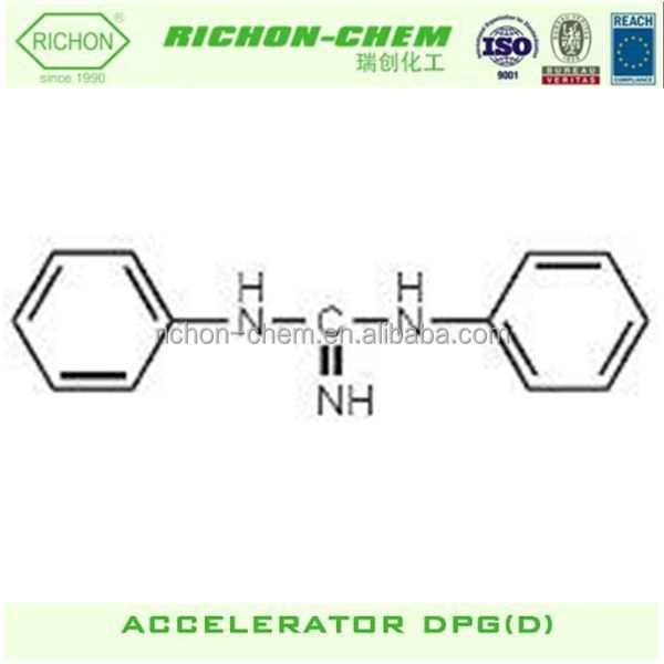Raw Material for Tyre Rubber Accelerator DPG Other Chemical Name 1,3-DIPHENYLGUANIDINE