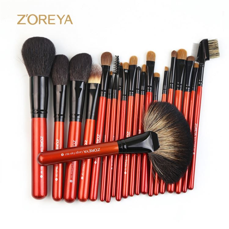 Top sale excellent quality facial cosmetic set make up brushes private label makeup brush
