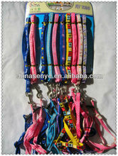 2014 best sale pet collar and leash, dog collar with wholesale price import pet animal products from china