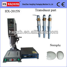 Welding machine for PVC, PP cover clear book