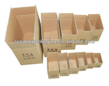 Carton box for dry fruit and vegetable packaging box