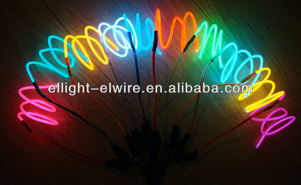 More higher brightness and quality EL WIRE /3.2mm EL WRE / High brightness EL Wire