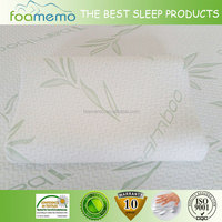 Real Factory supply memory foam chip foam Memory Curve Pillow Memory Foam Contour Pillow