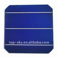 3 busbars Grade A 156*156mm monocrystalline silicon solar cells for cheap sale