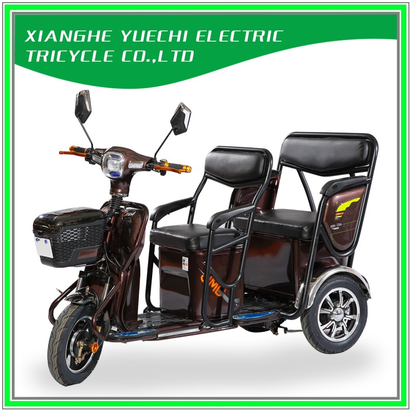 Hot Sale Fashion Electric Tricycle With Passenger Seat