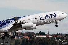 Air Shipping from Ningbo ; China to Belo Horizonte ; Brazil by Lan Chile / LAN