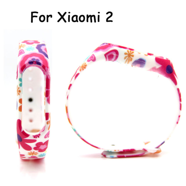 Silicone Belt  for Mi Band 2 for Xiaomi Strap Smart Wristband for Miband 2 Bracelet for Miband 2