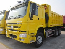 Powerful Sinotruk Howo 6x4 25 CBM Heavy Duty Tipper Truck Dump Trucks