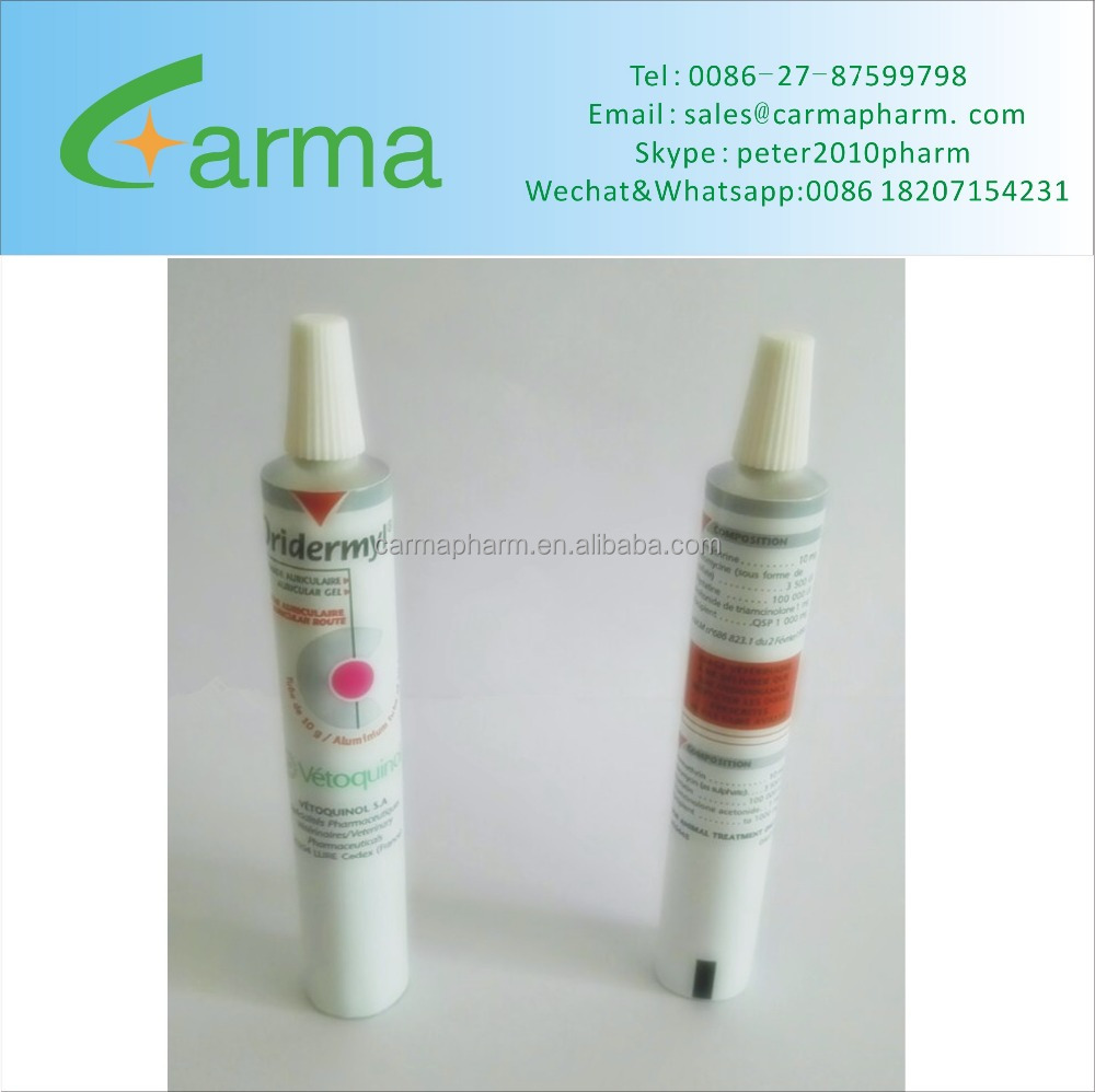 Pharmaceutical Empty Aluminium 0intment Tubes with different caps