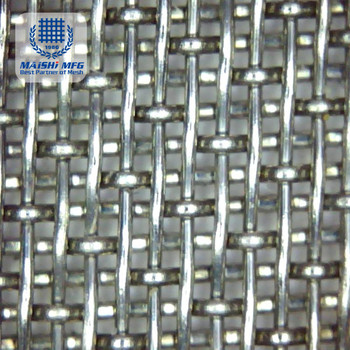 high grade woven mesh stainless steel mesh screen net